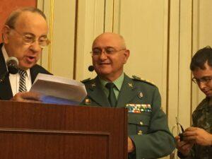 """Conferencia sobre """"Terrorismo explosivo"""" del coronel Luis Escalada en el Gobierno Militar de Barcelona"""