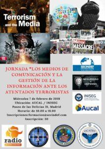 """La HAGC organiza la Jornada """"Los medios de comunicación y la gestión de la información ante los atentados terroristas"""""""