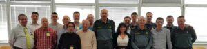 La delegación de la HAGC en Tarragona colabora con la Comandancia de la Guardia Civil con motivo de la Diada de Sant Jordi