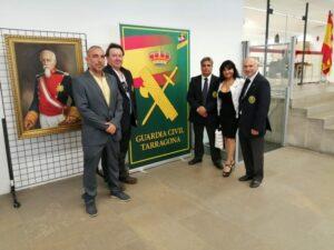 La HAGC de Tarragona, con la Guardia Civil en su 175 aniversario