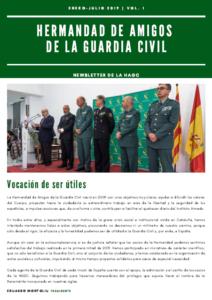 Newsletter de la HAGC: (Enero – Julio de 2019)