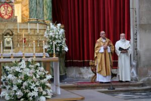 La HAGC asiste a los actos oficiales convocados por la Armada con motivo de la festividad de la Virgen del Carmen