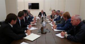 Primera reunión del Patronato de la Fundación Nacional Hermandad de la Guardia Civil, institución heredera de la HAGC