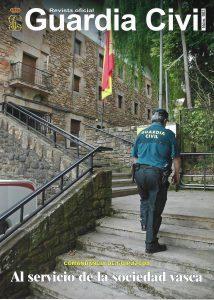 La Revista oficial de la Guardia Civil se hace eco de la entrega de un desfibrilador al Cuerpo