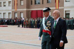 Lección de dignidad del general Pedro Garrido en los actos de celebración del Día de la Patrona