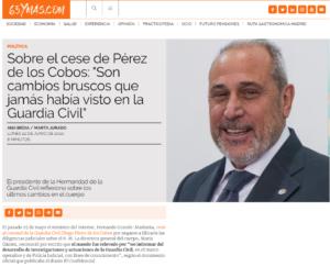 Entrevista al presidente de la FNHGC en el diario 65ymas