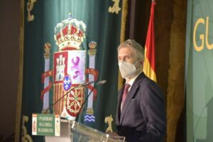 El ministro Grande-Marlaska preside el acto conmemorativo por el 175 aniversario de la Cartilla del Guardia Civil