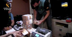 La Guardia Civil desmantela una estructura criminal que controlaba el tráfico de cocaína a través del Puerto de Algeciras