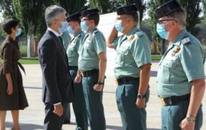 Grande-Marlaska inaugura el curso académico en la Academia de Oficiales de la Guardia Civil en Aranjuez