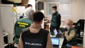 La Guardia Civil detiene en Madrid a un presunto miembro de Daesh tras una investigación conjunta con EUROPOL