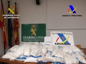 Desarticulada una organización criminal que introducía cocaína en Europa a través del puerto de Barcelona