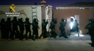 La Guardia Civil realiza la mayor operación contra el blanqueo de capitales procedente del narcotráfico en el Campo de Gibraltar