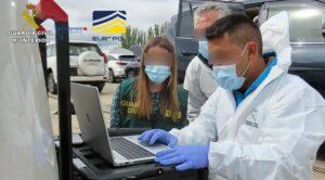 Desarticulado un grupo criminal dedicado al tráfico internacional de vehículos robados desde España hasta Europa y África