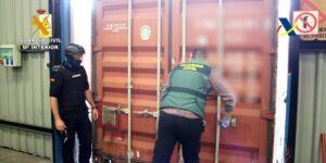 Intervenidos 1.400 kilos de cocaína ocultos en contenedores en el puerto de Bilbao