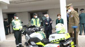 Su Majestad el Rey apoya la labor de la Guardia Civil en el entorno rural con su visita a Valencia de Alcántara