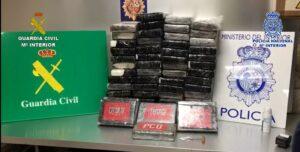 La Guardia Civil y la Policía Nacional desmantelan una organización criminal que introducía cocaína en España a través del Aeropuerto Adolfo Suárez Madrid-Barajas