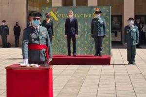 El ministro Grande-Marlaska preside la toma de posesión del general José Luis Tovar Jover como jefe de la Guardia Civil en Cataluña