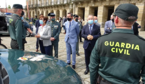 La directora general de la Guardia Civil presenta el dispositivo de seguridad establecido para el Año Santo Xacobeo 2021