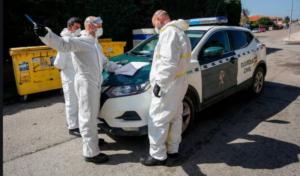 La Fundación dona mascarillas y material de protección a la Guardia Civil dada la gravedad de la pandemia por COVID-19