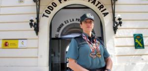 Una guardia civil campeona: Con cinco oros en Defensa Personal, une el deporte de élite a su puesto en la Comandancia de Córdoba