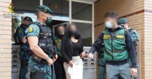 La Guardia Civil desarticula una organización que explotaba sexualmente a víctimas captadas en Sudamérica