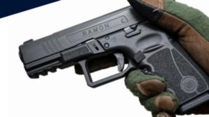 La nueva pistola de la Guardia Civil es una 9mm Parabellum versátil y ligera que se llama Ramon y viene de Israel