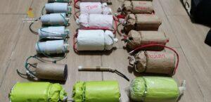 La Guardia Civil desmantela un taller clandestino de fabricación de explosivos ubicado en un bloque de viviendas